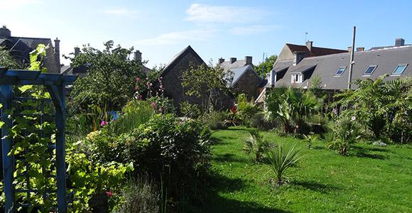 Jardin gites de la palmeraie manche normandie