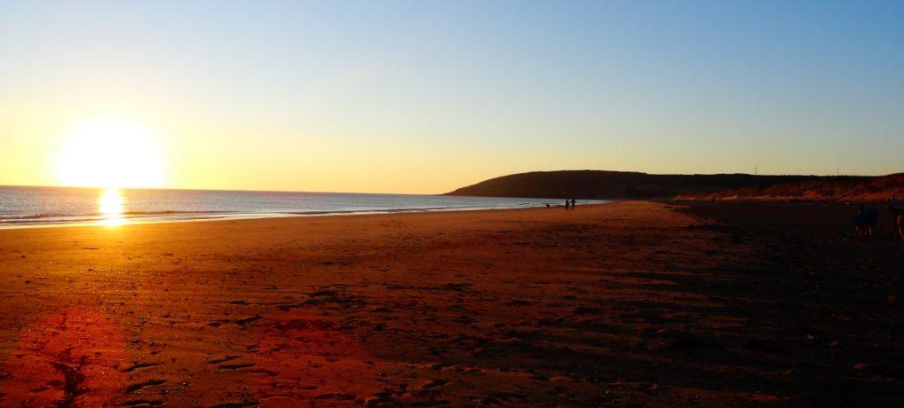 La plage de Surtainville