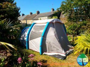 Louez une tente à la Palmeraie, à Surtainville, gîtes, chambres d'hôtes et tente 2 places